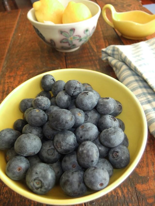 The essentials - Lemon & Blueberry Muffins
