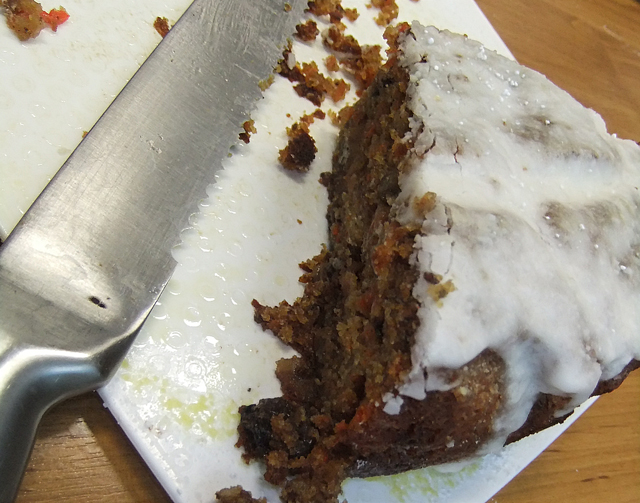 Carrot Cake with Lemon Icing