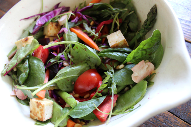 Spring Tofu Salad