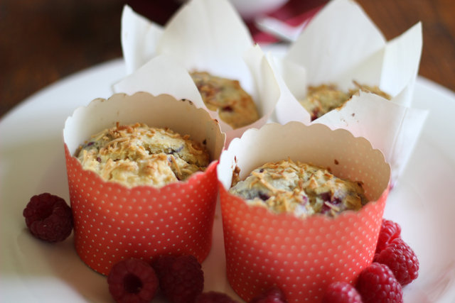 Rasberry &CoconutMuffins