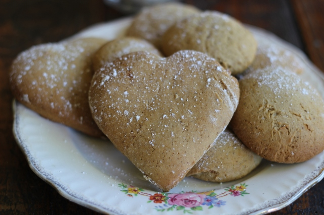 Ginger, Cinnamon and Nutmeg Biscuits