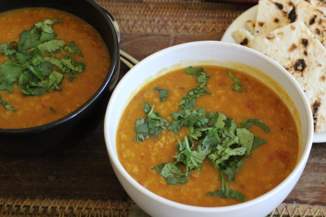 Easy Indian Dahl Soup